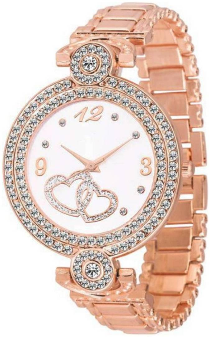 Rose Gold Fashion Italian Design Women Analog watch for Girls and Ladies Watch - For Women