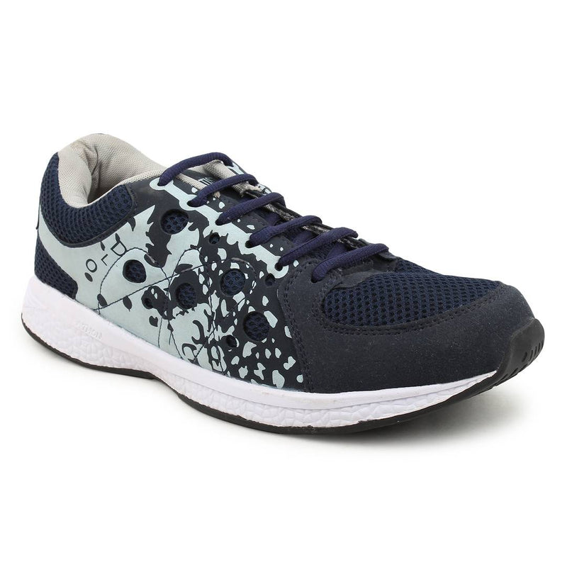 Multicoloured Printed Mesh Sports Running Shoes