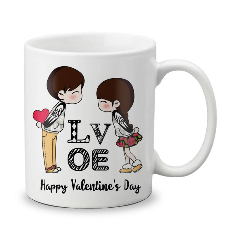Happy Valentine's Day Gift Beautiful Best Love Quotation Mug