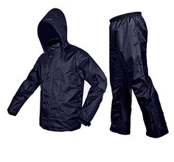 Blue Rain Coat With Lower & Cap