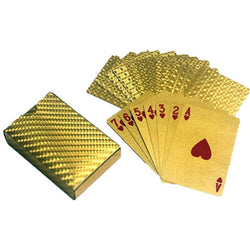 Golden Playing Cards