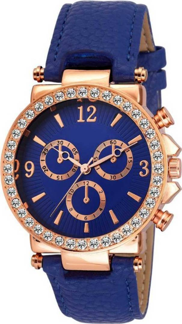New Diamond Stud Dial Watch For Women