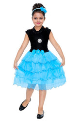 Girls Midi/Knee Length Party Dress