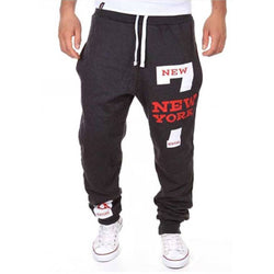 Men's Black Polycotton Self Pattern Regular Fit Joggers