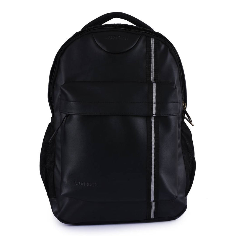 New Unisex Soft Faux Leather Laptop Backpack Bag