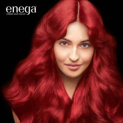 Cream Hair Color With Argan Oil & Green Tea Extract Formula Smooth Care For Your Precious Hair! Flame Red (Pack Of 1)