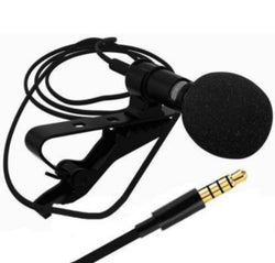 3.5 mm clip microphone for YouTube