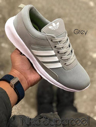 Men's Grey Mesh Smart  Walking Sports Shoes