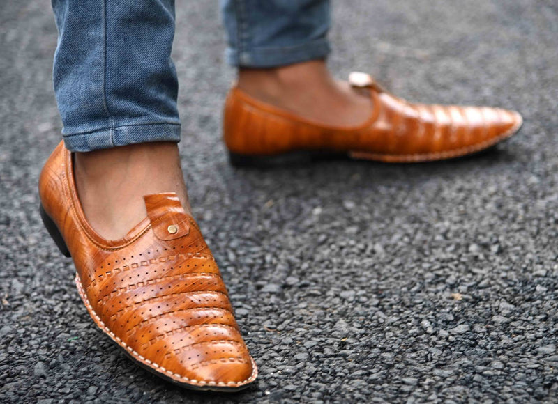 Elegant & Stylish Tan Slip On Comfy Casual Shoes