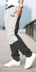 Muticoloured Cotton Slim Fit Trackpant