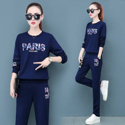 Fashionable Polyester Printed Round Neck Full Sleeve Track Suit