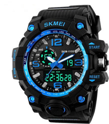 Blue Wrist Watch for Men