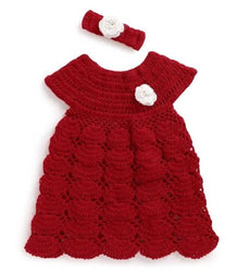 Girls Woolen Frock