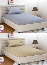 Cotton Single Bedsheet Combo