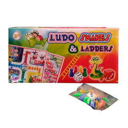 Ludo & Snakes and Ladders Board Game