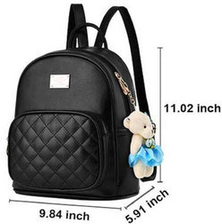 Stylish PU Backpack For Women
