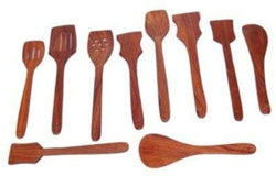 MDF Sheesham Wood Spoon Set of 10 Pcs
