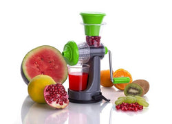 Plastic, Steel Hand Nano Juicer Fruit and Vegetable Nano Manual Portable Hand Juicer with Steel Handle