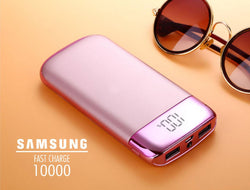 Y10 ROSE GOLD 10000 mAh Polymer POWER BANK