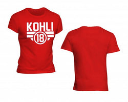 IPL KOHLI RED T SHIRT