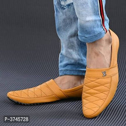 Tan Casual Party Wear Shoes For Men's