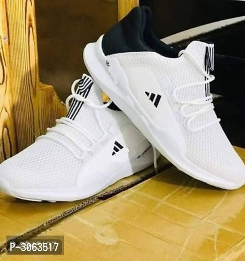 Ultra Light White Men Sneakers