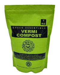 Green Essentials Vermicompost for Plants 1 Kg - Organic Fertilizer & Manure Organic Soil Manure  (1 kg Powder)