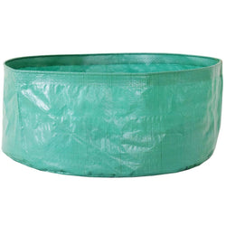 Terrace Gardening Leafy Vegetable Green Leaf Round Shape Grow Bags (Pack Of 6)