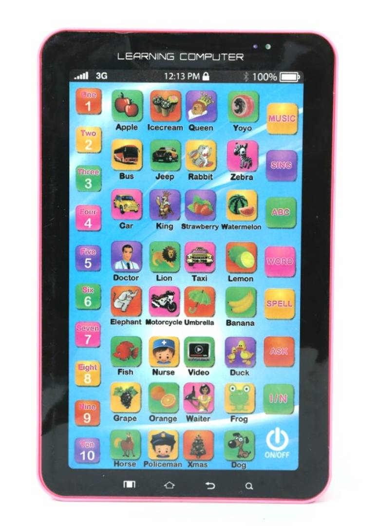 Toys 4 U Educational Learning Tablet Computer for Kids(Multicolor)