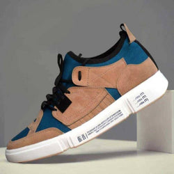 Elegant & Stylish Tan Mid Ankle Casual Sneakers For Men