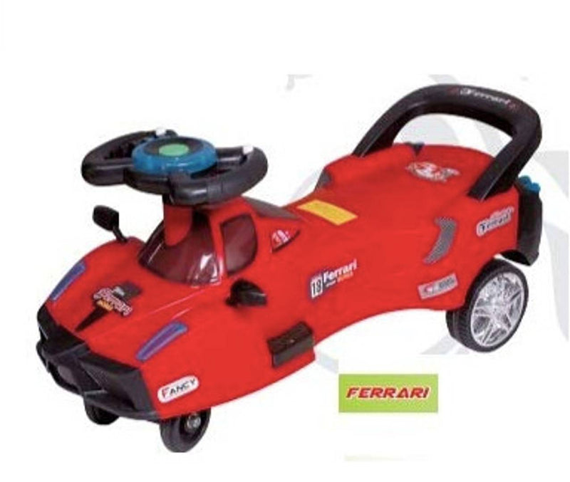Humg Enterprises Ferrari Magic Car Toy for Kids (Red Mix Black)
