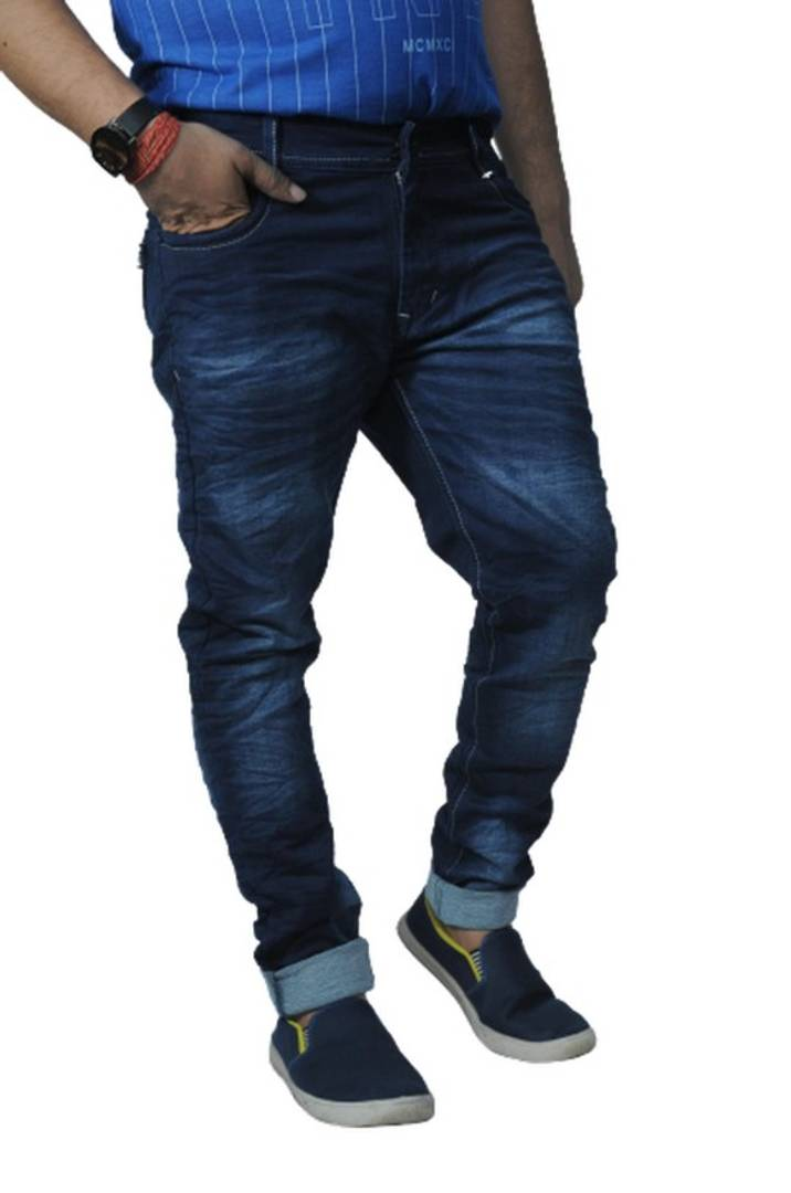 Men's Regular Fit Blue Jeans Casual for Men