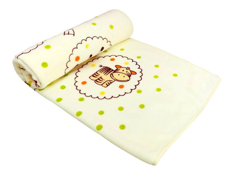 New Born Infant Baby Microfiber Quality Baby Towel Extra Soft Warm Baby Printed Washcloth