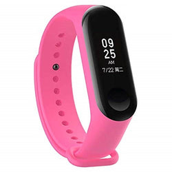 NAVYA M3 Activity Tracker and Fitness Band with Heart Rate Monitor Compatible with All Android and iOS Smartphones (Pink)