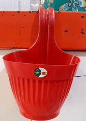 Premium Plastic Red Hanging Plating Pot