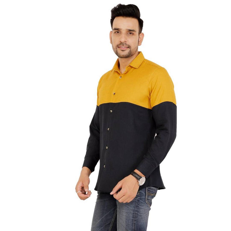 Stylish Multicoloured Cotton  Casual Shirt For Men