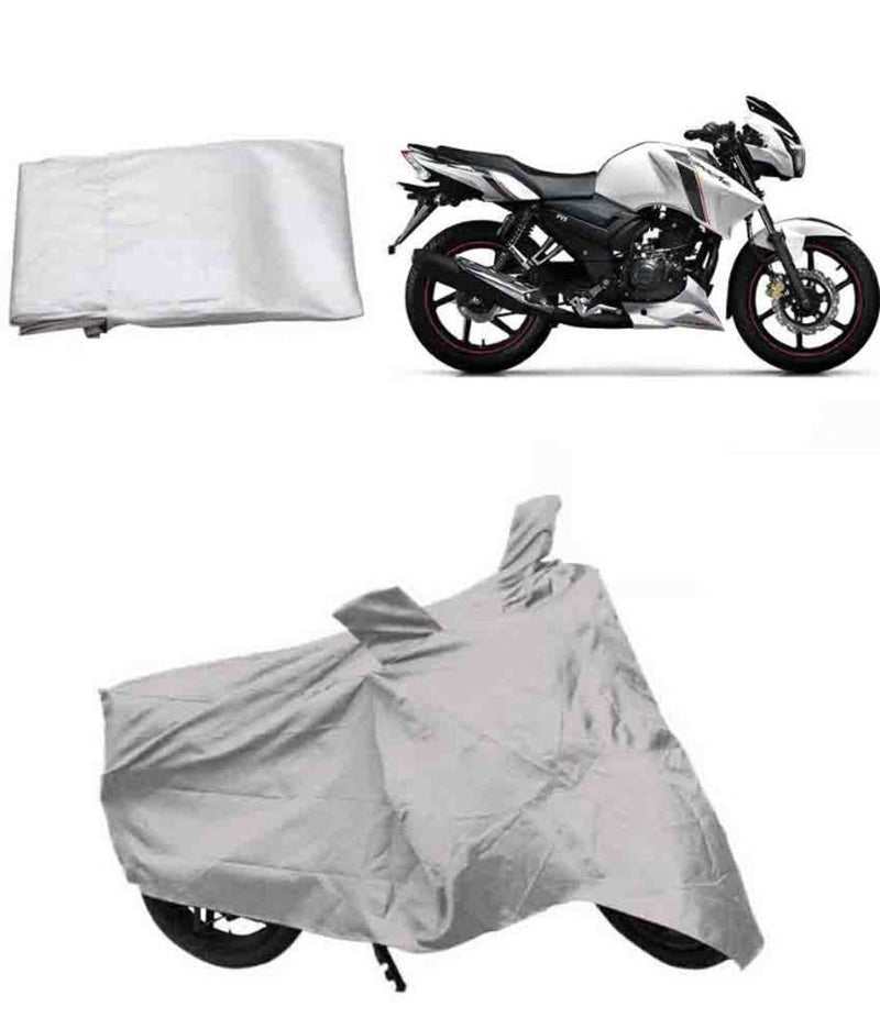 Tow Wheeler Bike Body Cover For TVS Apache Bike Body Cover