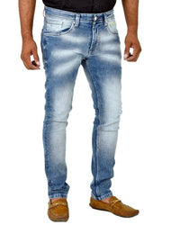 Orijean Light Blue Skinny Fit Jeans