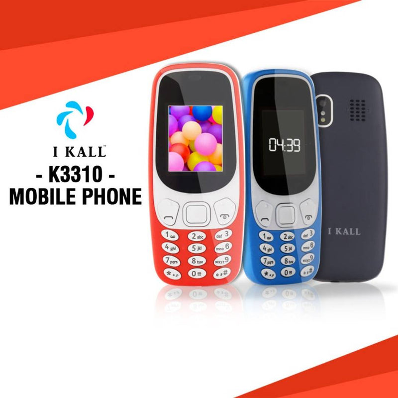 I Kall K3310 Mobile Phone (Red)