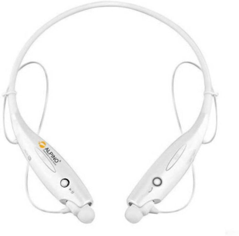 Hbs 730 Bluetooth Headset  (White, Wireless In The Ear)