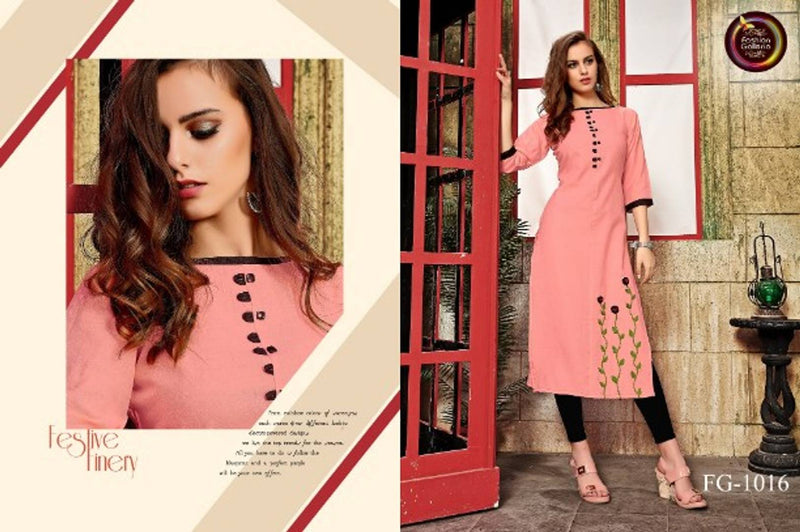 Women's Hand Work Galaxy Cotton Kurti