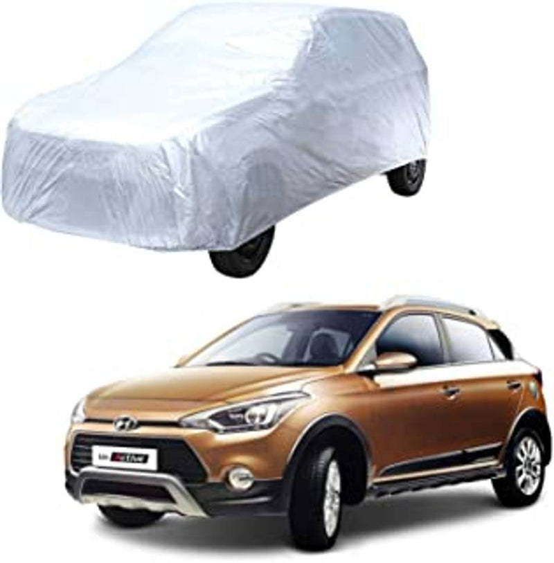 Car Body Cover Compatible for  Swift Getz Silver Matty & Grey Matty