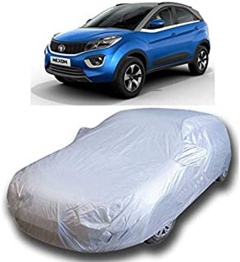 Car Body Cover Compatible for NewSwift Silver Matty & Grey Matty