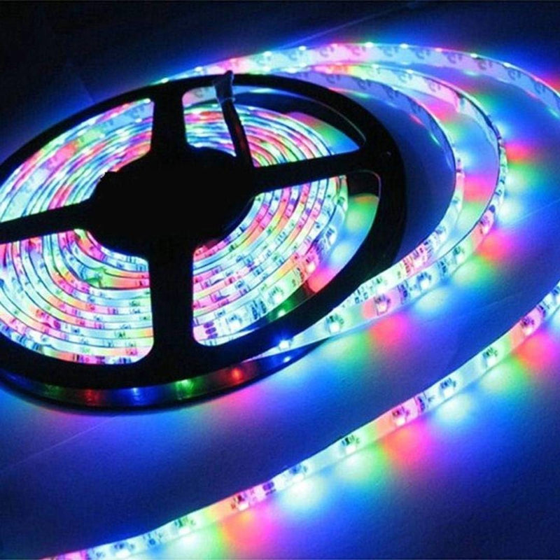 Waterproof Multicolor Led Strip 5 Meter LED Strip Set With Remote & Adapter