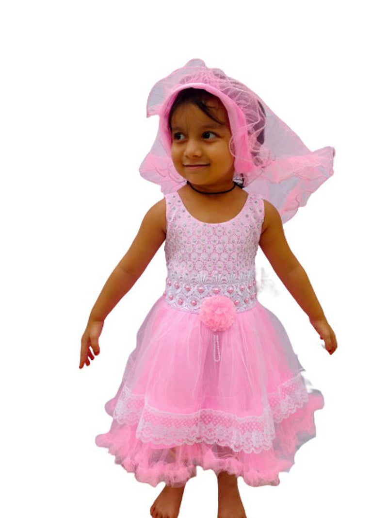 KIDS GIRLS WESTERN PARTY FROCKS