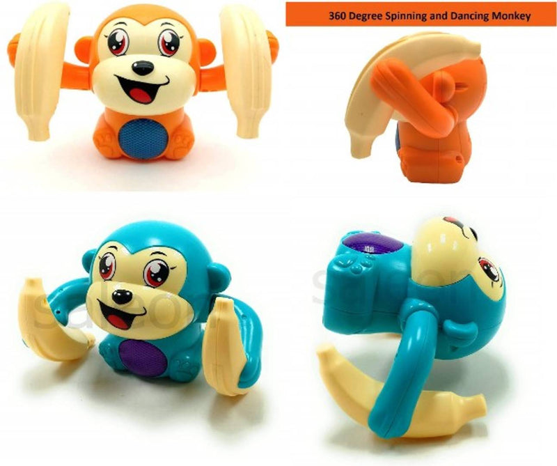 Musical Dancing Monkey Toys For Kids