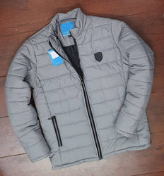 Comfy Polyester Solid Jacket For Men