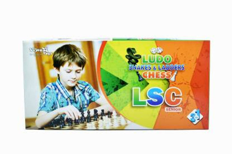 jojoss Ludo, Snake and Ladder, Chess Strategy & War Games Board Game