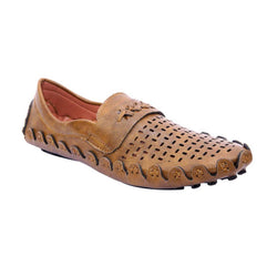 Men's Stylish and Trendy Brown Solid Synthetic Casual Comfort Sandals
