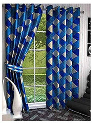 Trendy Polyester Printed Door Curtain pack of 2